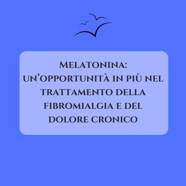 melatonina-dolore-cronico-fibromialgia